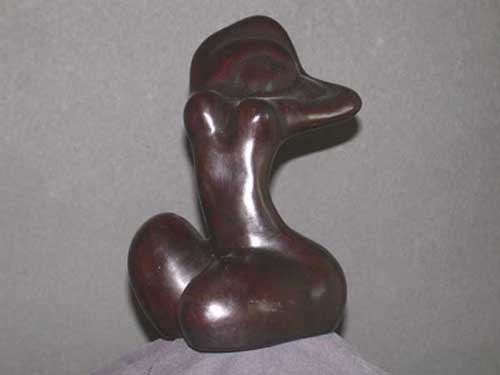 Image 0 of Female Abstract Form #2 Resin
