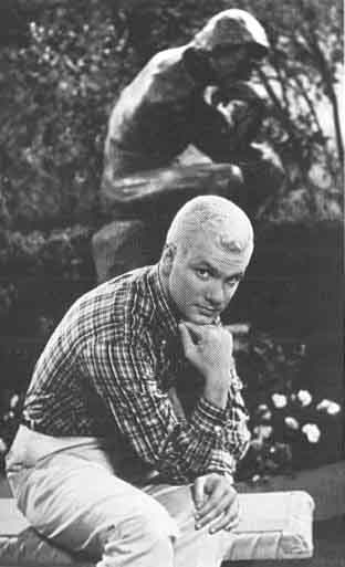 Bronze The Thinker Rodin Dobie Gillis Marble Base Ebay